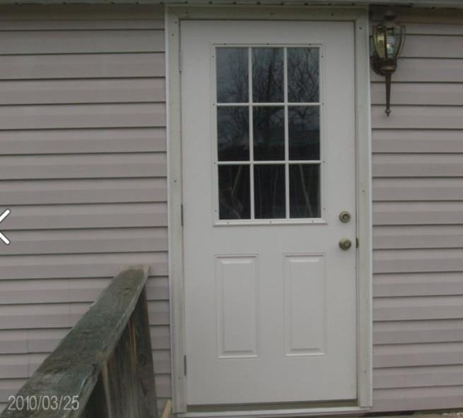 Mobile home replacement doors exterior