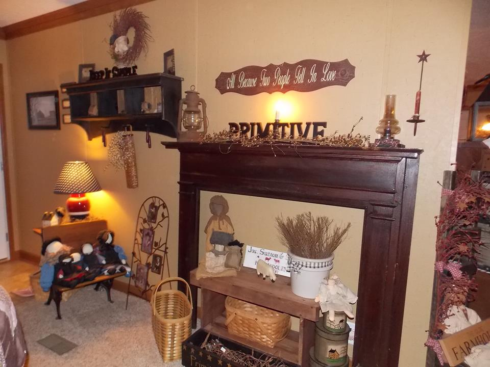 manufactured home decorating ideas  primitive country style,