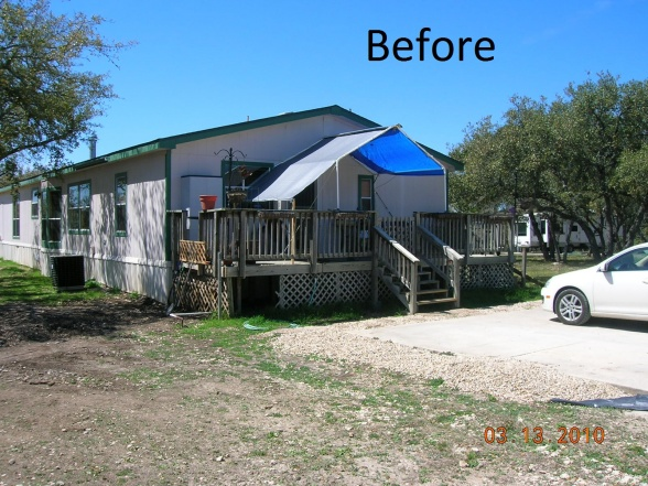 double wide transformation-craftsman style double wide