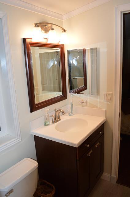 double wide home improvements-double wide bathroom