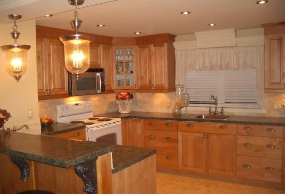 Extreme single wide home remodel for Mobile home kitchen ideas