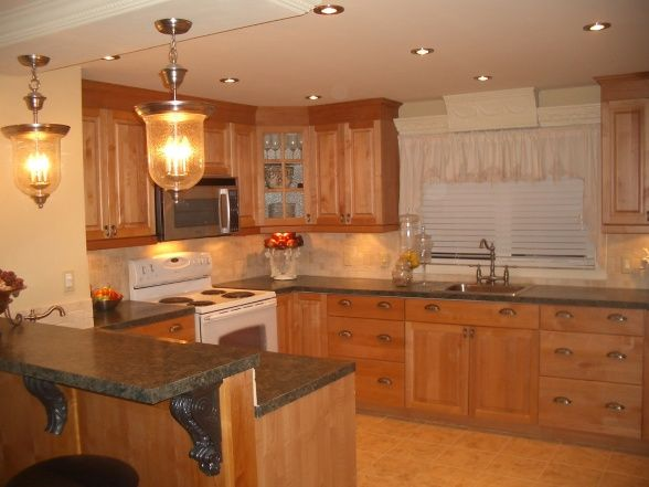 Extreme single wide home remodel Mobile home kitchen remodel pictures