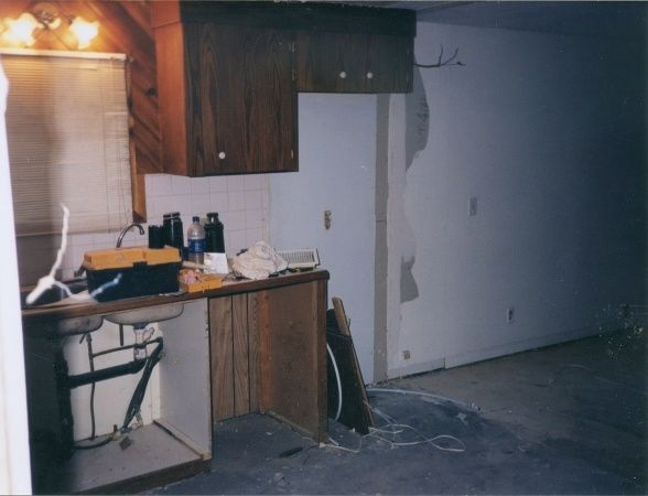 extreme manufactured home kitchen remodel