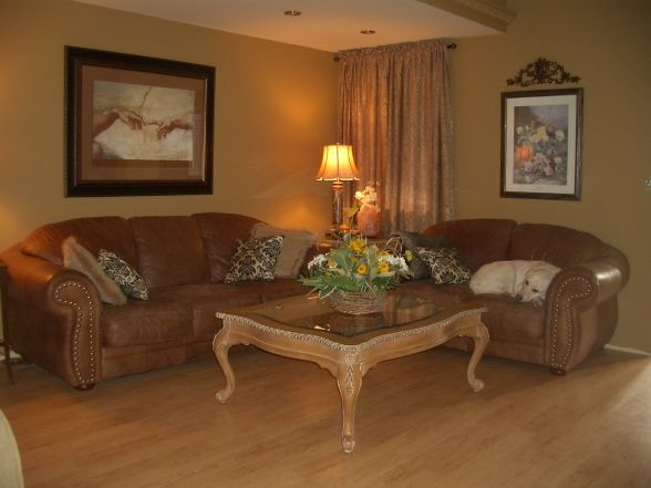 extreme manufactured home remodel living room 3