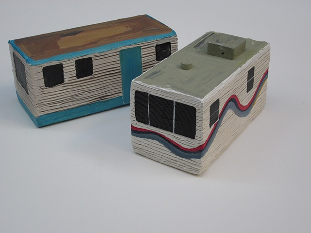 mobile home sculpture 3