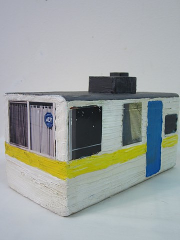 mobile home sculpture
