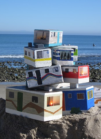 mobile home sculptures