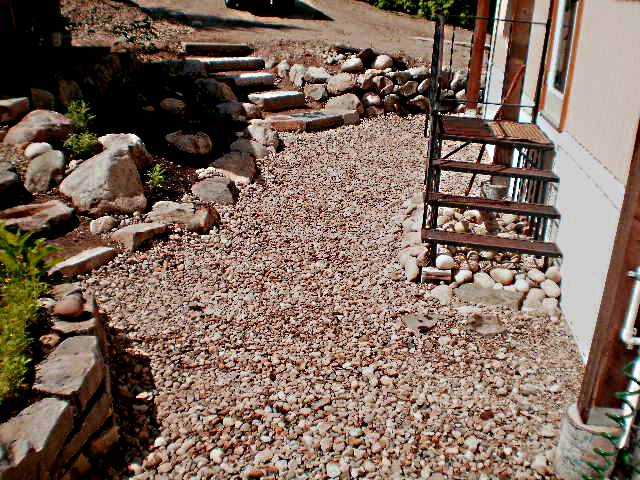landscaping ideas for stone steps
