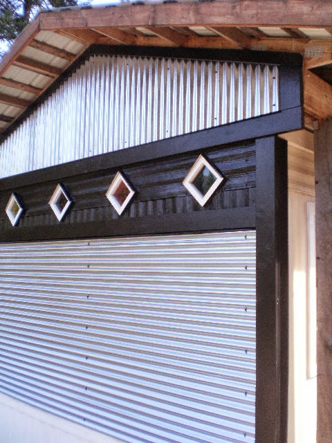 sheet metal siding on mobile home