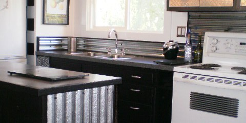 sheet metal kitchen