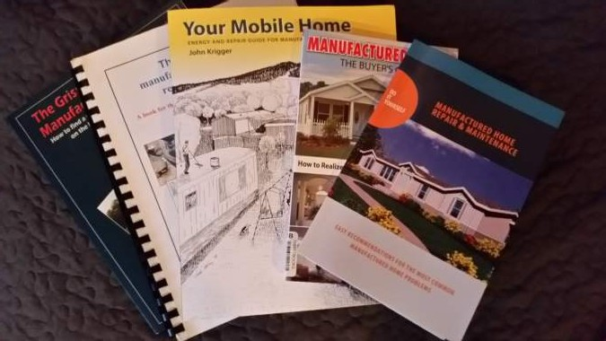 mobile home books and manuals