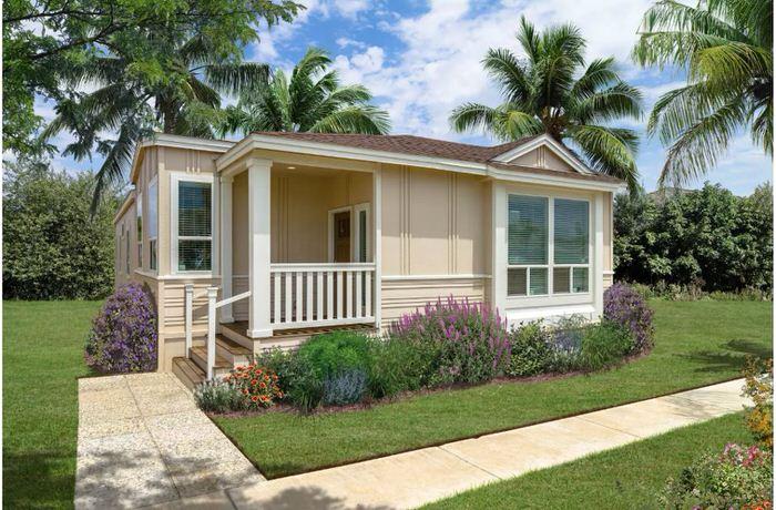 2018 new manufactured home design-exterior