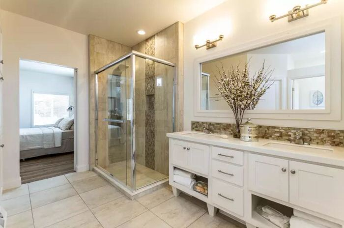 2018 new manufactured home design-master shower