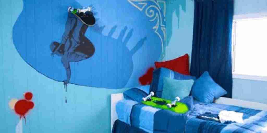 Skateboard wall decor
