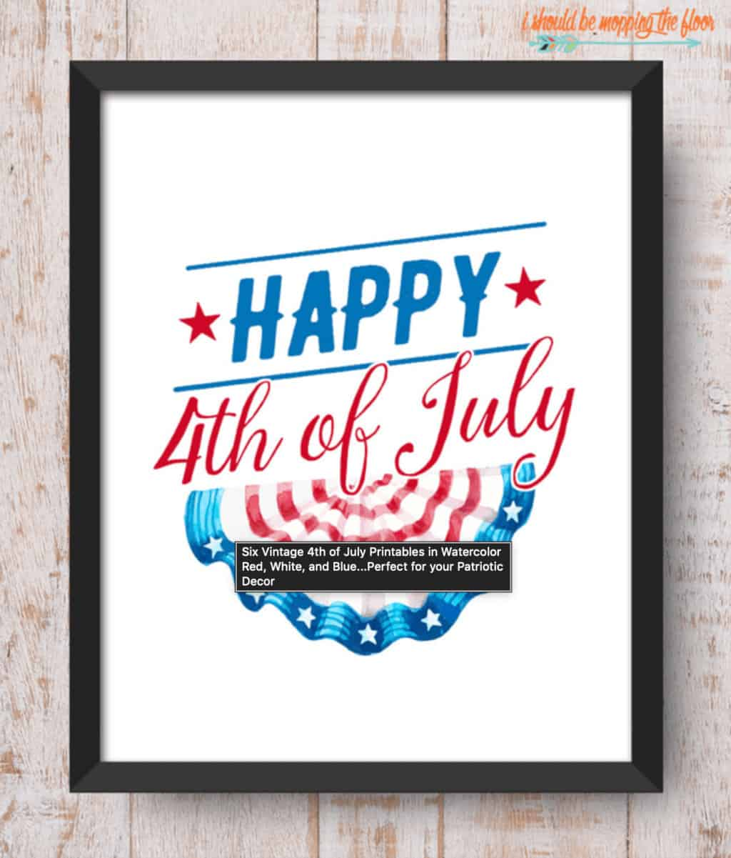 Free patriotic printable - affordable patriotic decorations for your home free printables00001