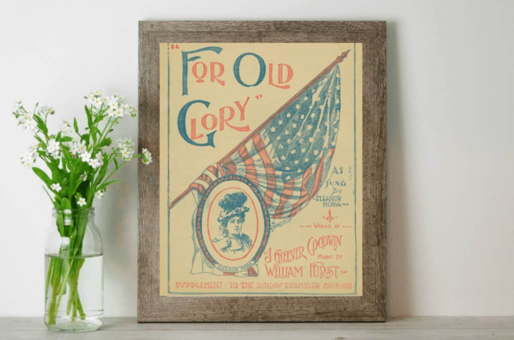 Affordable patriotic decorations for your home free printables00005