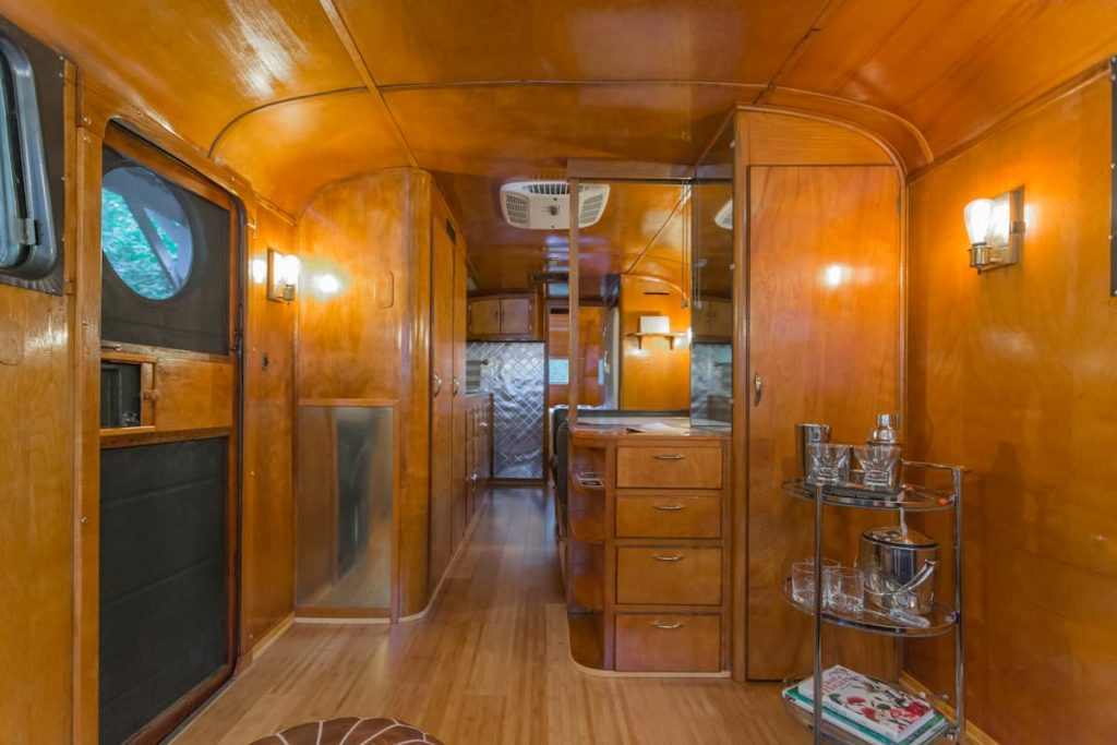 1949 spartan interior