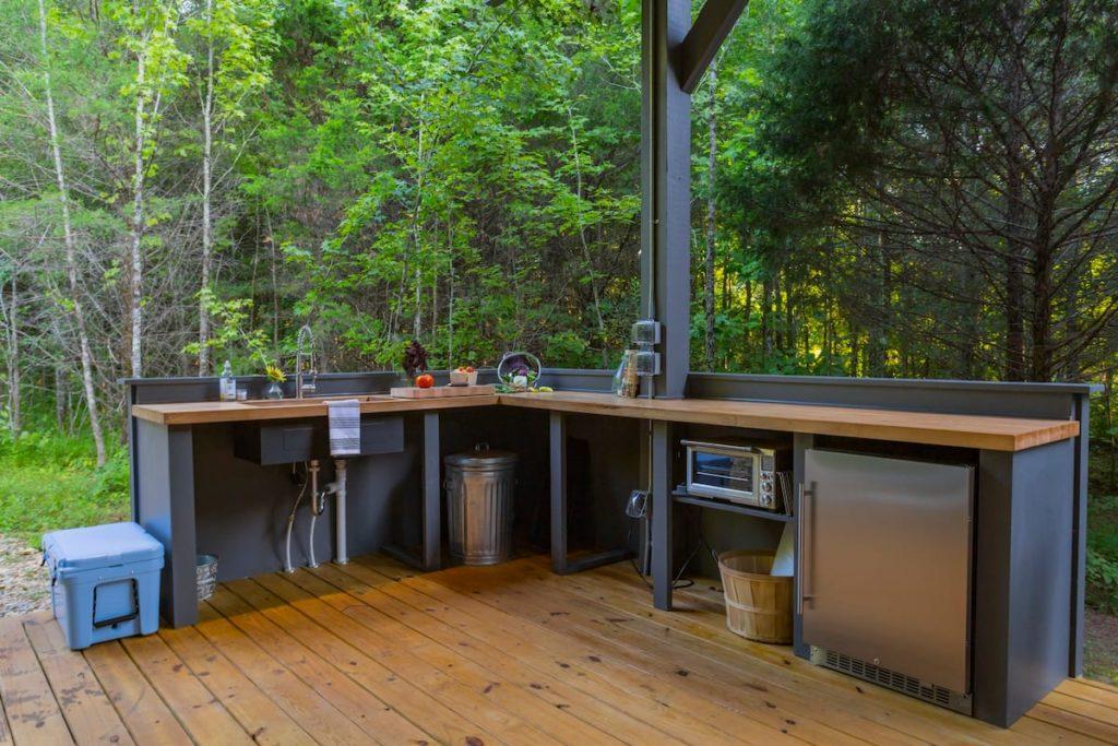 1949 spartan outdoor kitchen