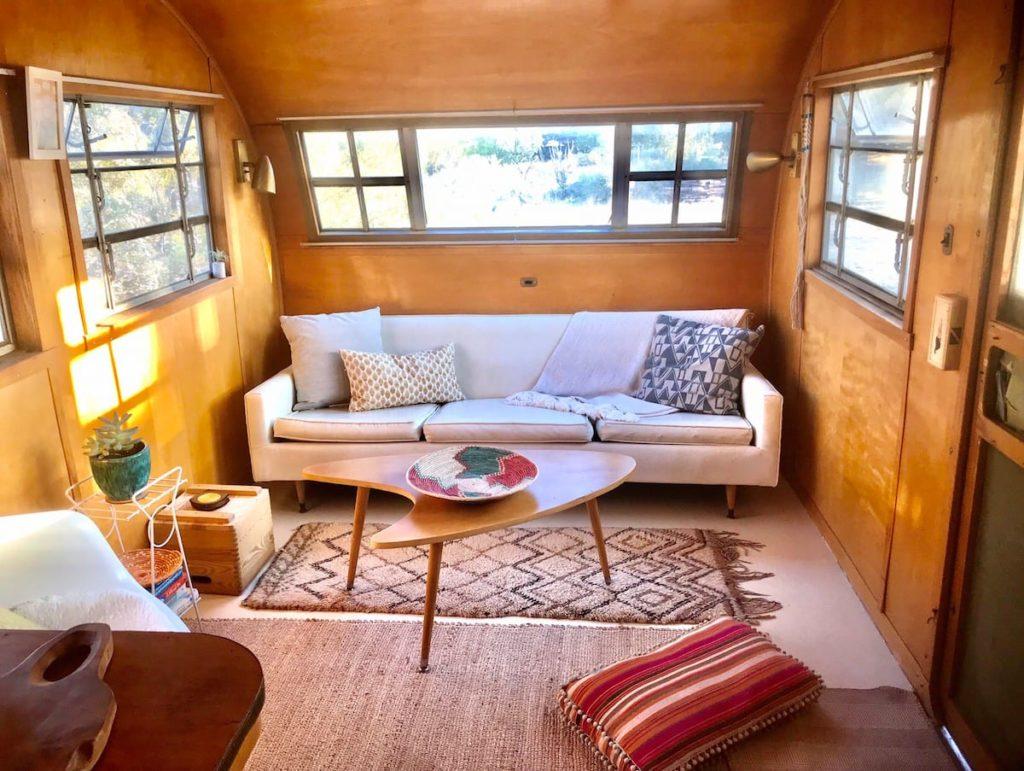 1951 vintage sitting area
