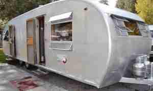 1953 Spartanette Mobile Home Restoration