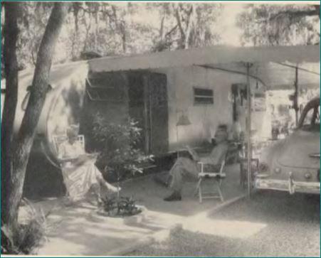 1953 Mobile Home Couple 1