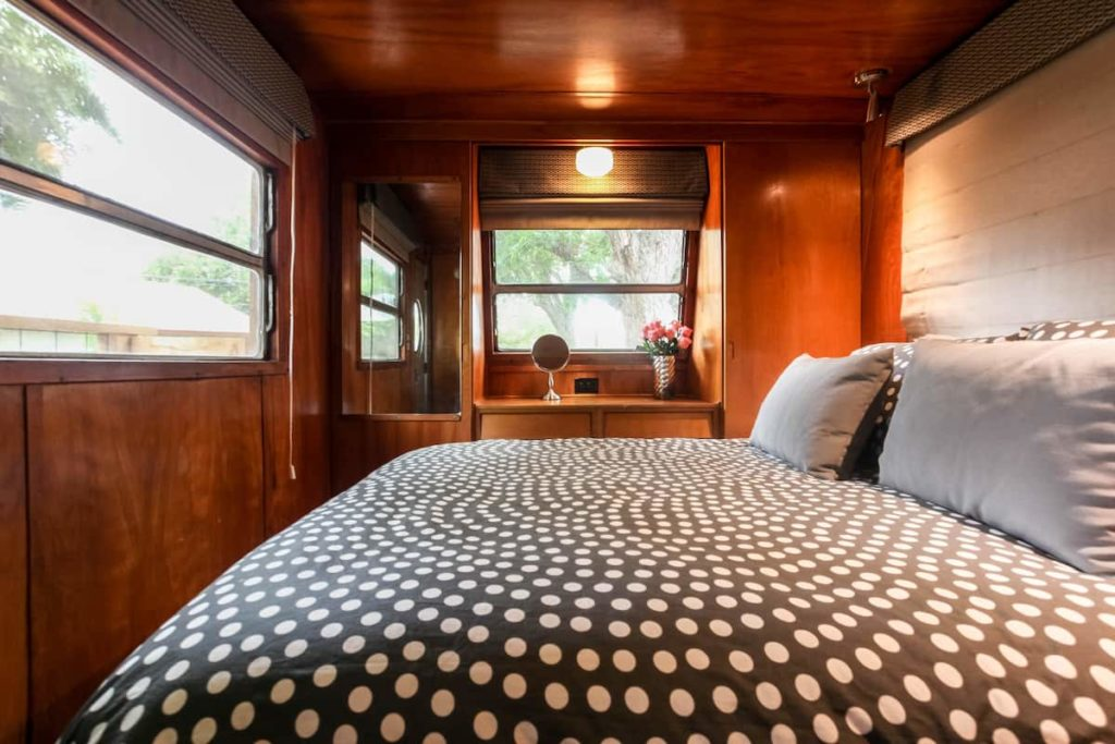 1953 retro spartan bedroom