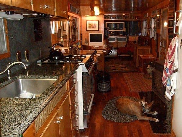 1956 Spartan Executive Mansion Updated Kitchen