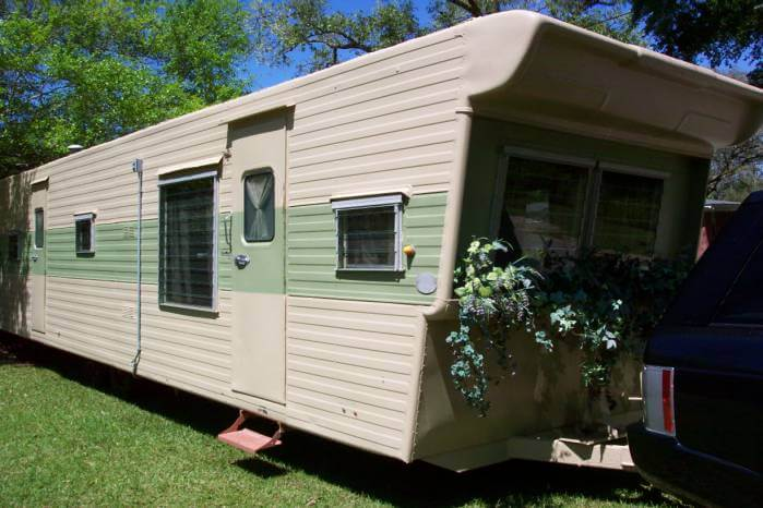 1957 Casa Manana 2 Bedroom Travel Trailer - closer exterior
