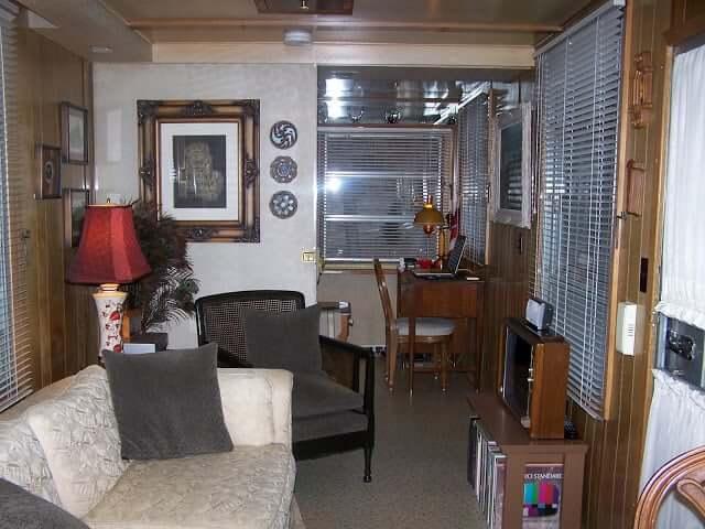 1959 imperial mansion interior remodel - living room