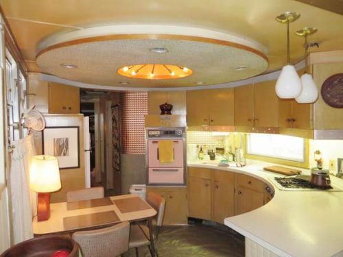 Spartan carousel trailer kitchen