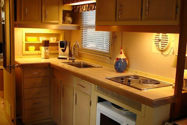 1959 spartan mobile home kitchen