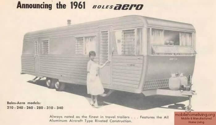 1961 boles aero mobile home