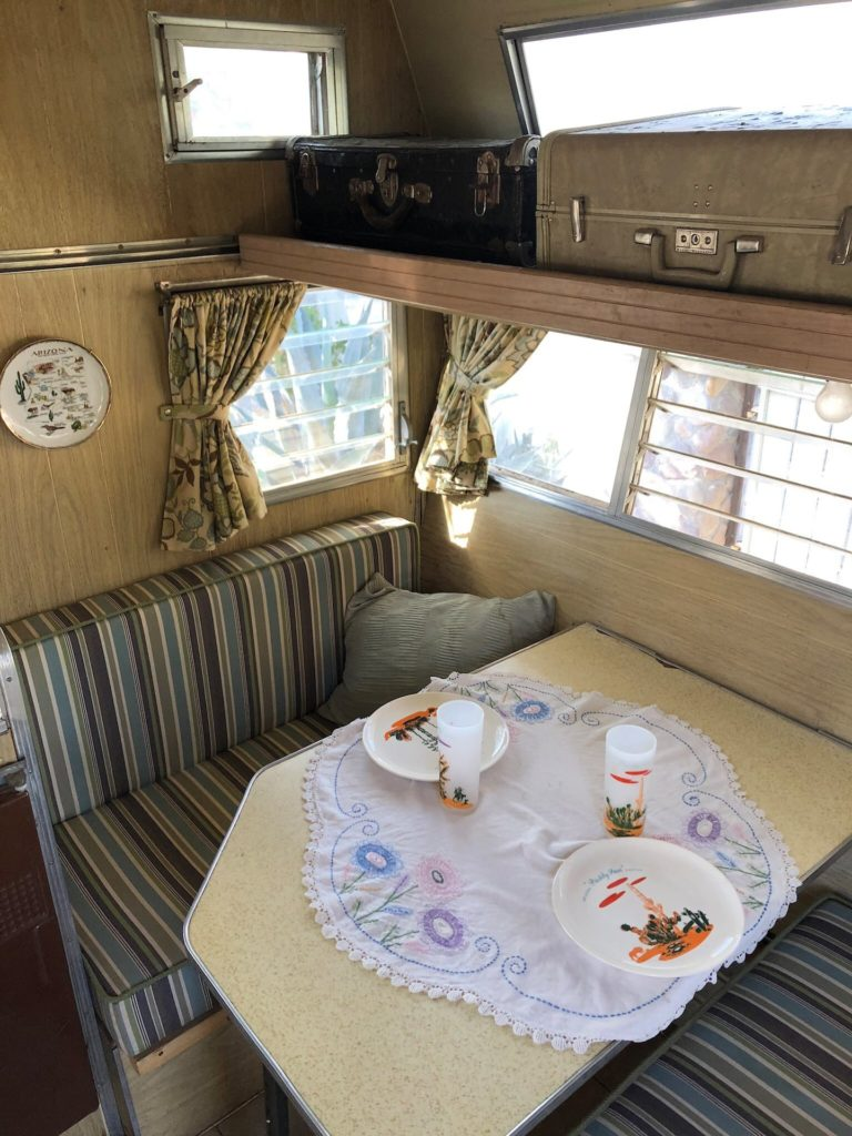 1964 aristocrat dinette and bed