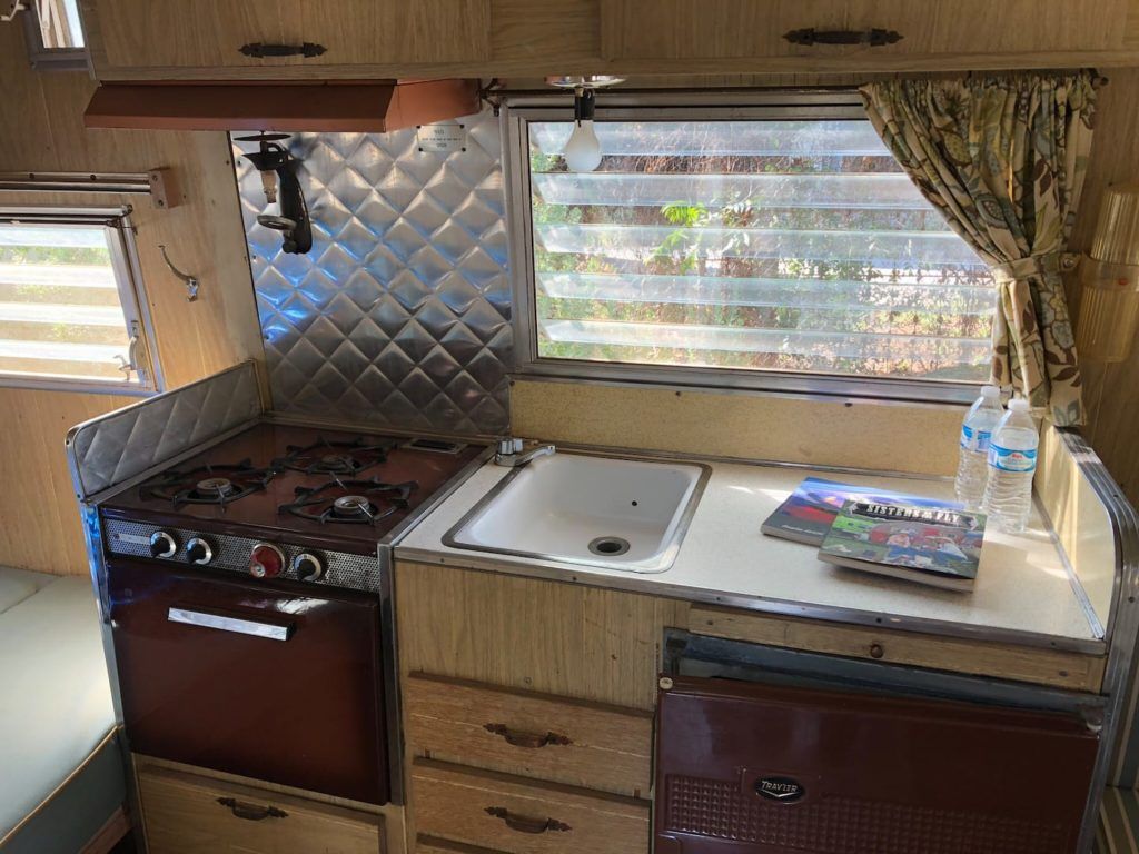 1964 aristocrat kitchen
