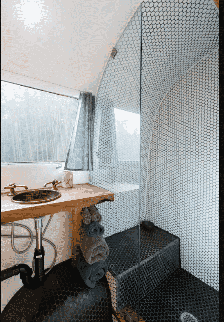 S airstream renovation bathroom
