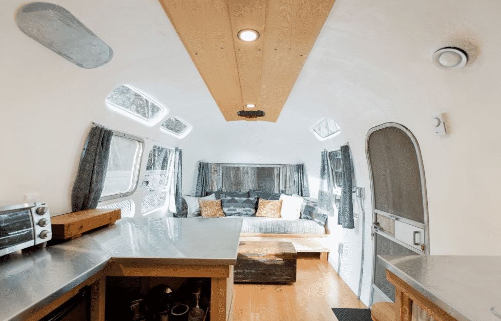 S airstream renovation interior