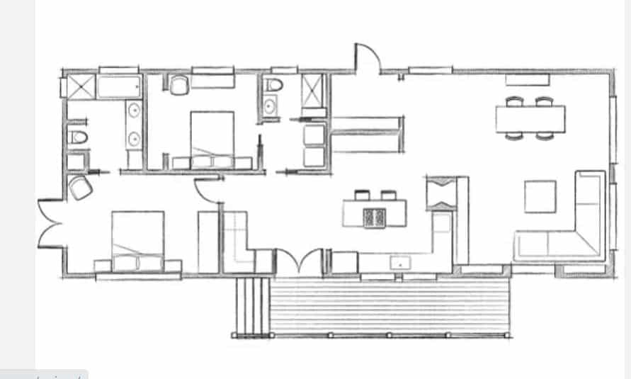 S Double Wide Floor Plan
