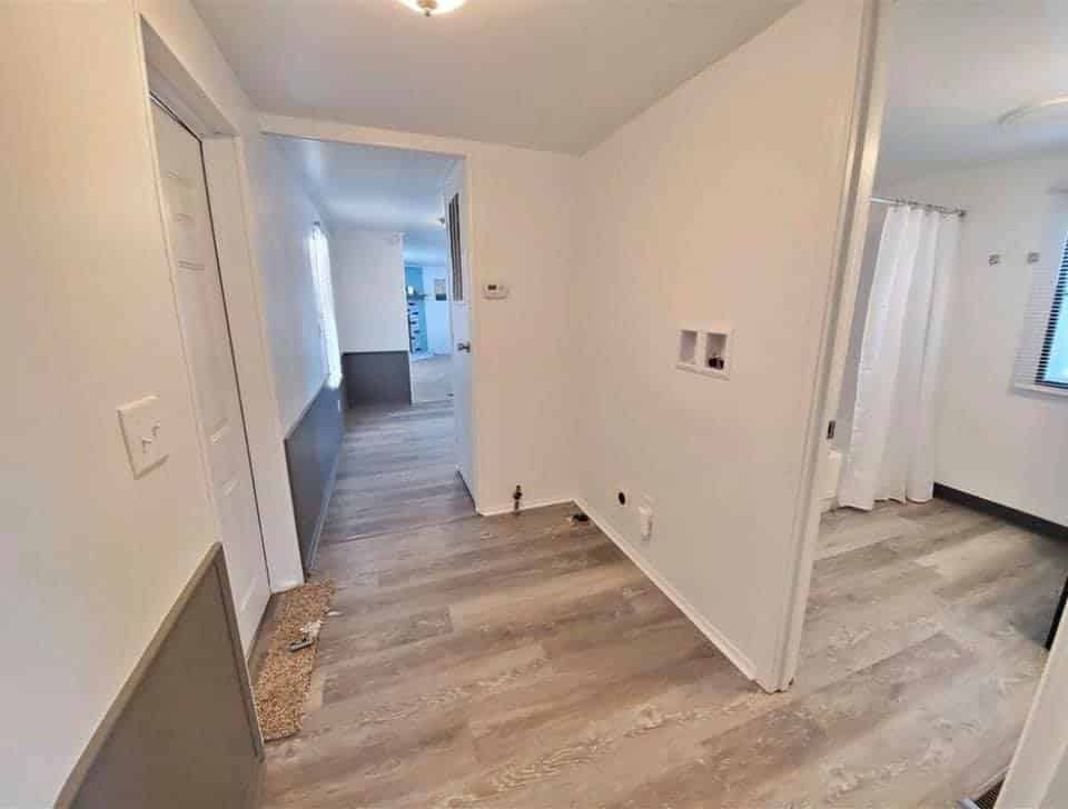 S mobile home hallway