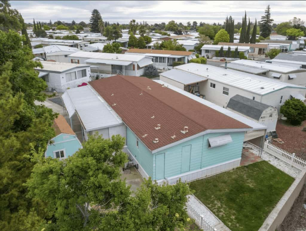 1972 Double Wide Mobile Home With New Roof In Vacaville Ca