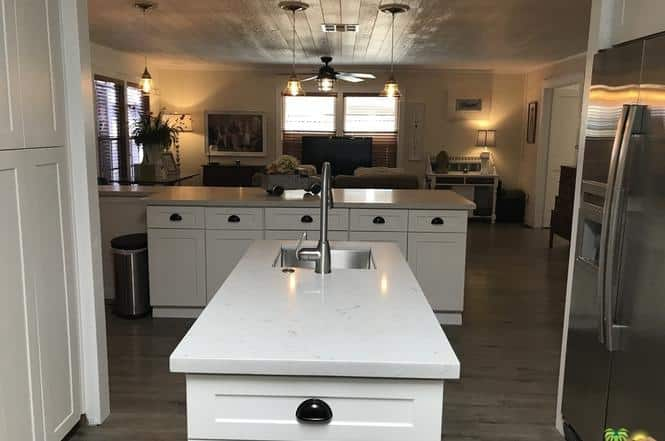 Double Wide Remode With Farmhouse Style Kitchen And T V Room
