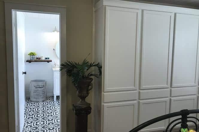 Double wide remodel bathroom tile