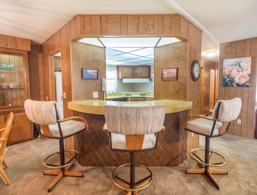 Golden west triple wide kitchen