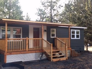 Transforming a 1978 Double Wide Into a Vacation Home