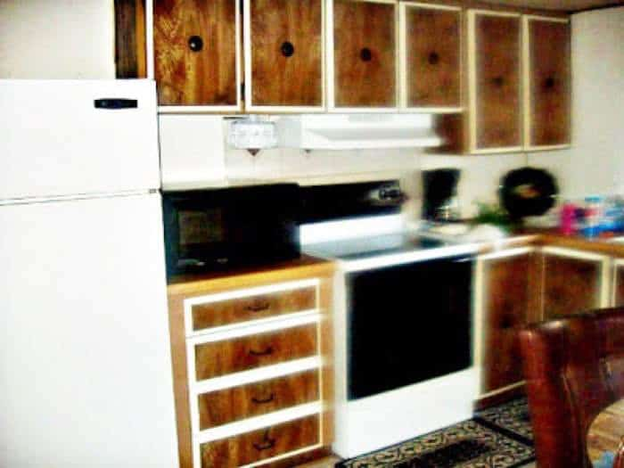 1978 Mobile Home Remodel Kitchen Before