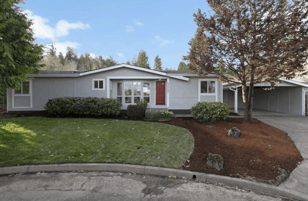 1984 Remodeled Double Wide Mobile Home 53047 NW Olepha Dr, Scappoose, OR 00002