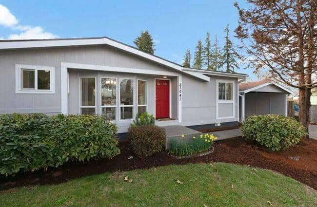 1984 Remodeled Double Wide Mobile Home 53047 N W Olepha Dr Scappoose O R 00003
