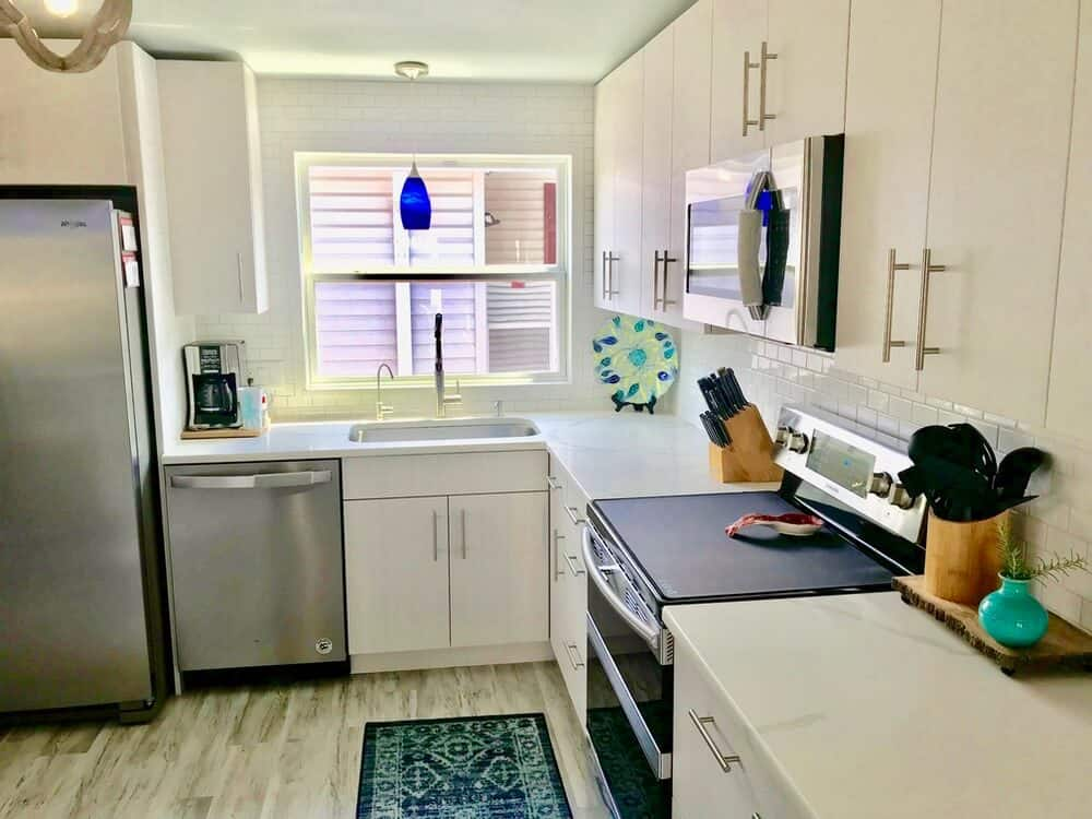 1988 Fuqua Manufactured Home Remodel Kitchen After