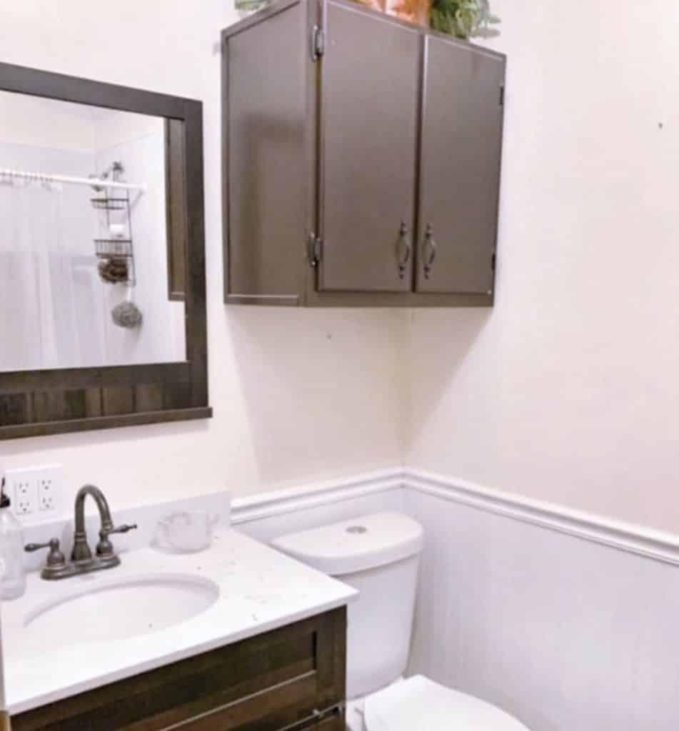 Buccaneer double wide remodel bathroom before remodel
