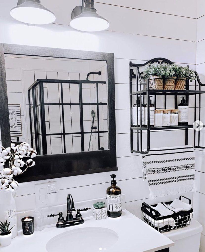 Buccaneer double wide remodel bathroom completed