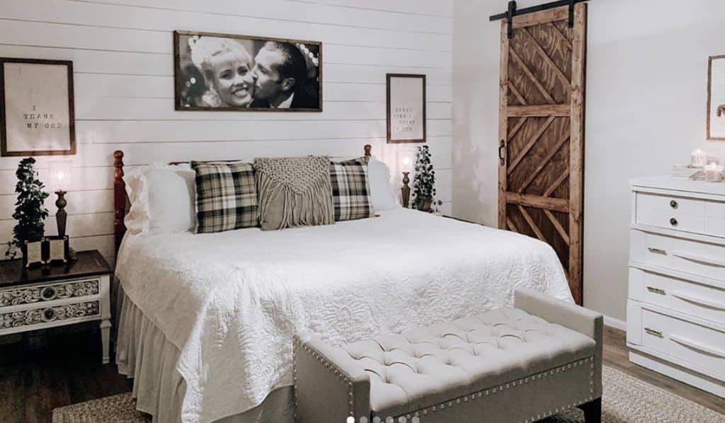Buccaneer double wide remodel bedroom remodel finished